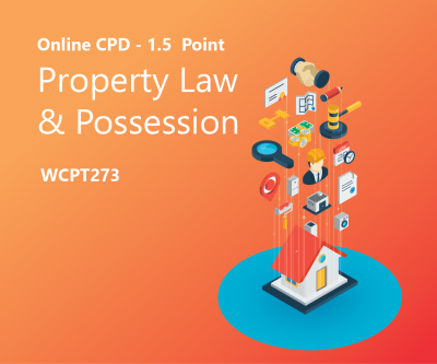 Property Law and Possession icon